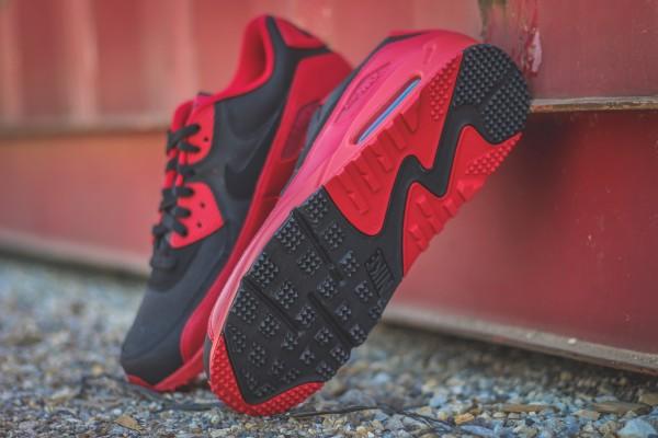Nike Air Max 90 Winter PRM - Gym Red/Black 4