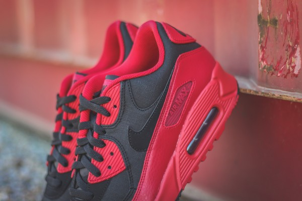 Nike Air Max 90 Winter PRM - Gym Red/Black 5