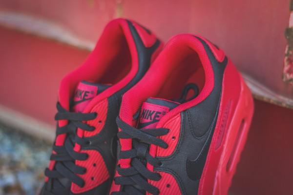 Nike Air Max 90 Winter PRM - Gym Red/Black 6