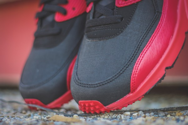 Nike Air Max 90 Winter PRM - Gym Red/Black 7