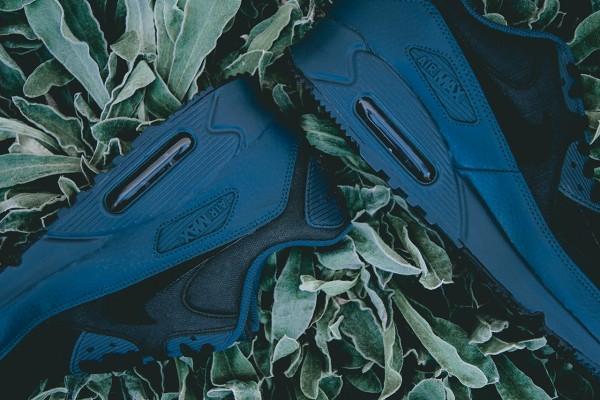 "Nike Air Max 90 Winter PRM ""Squadron Blue/Black"" 2"