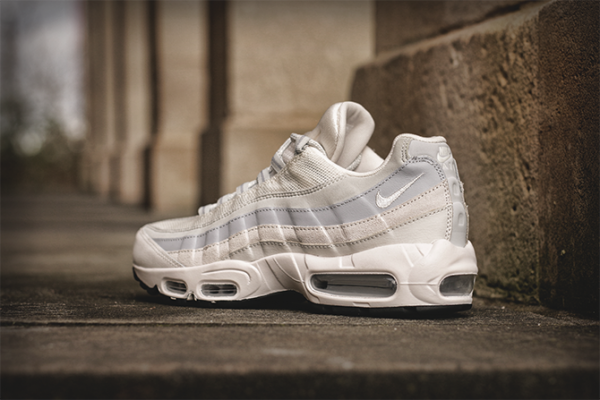Nike Air Max 95 - Phantom / Wolf Grey - Light Brown 4