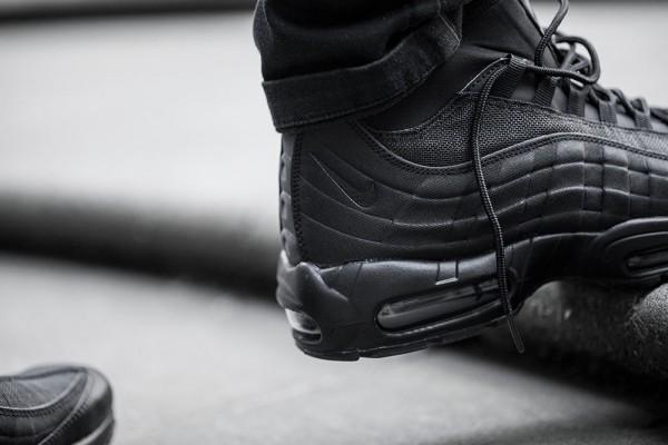 Nike Air Max 95 Sneakerboot - Black/Black 6