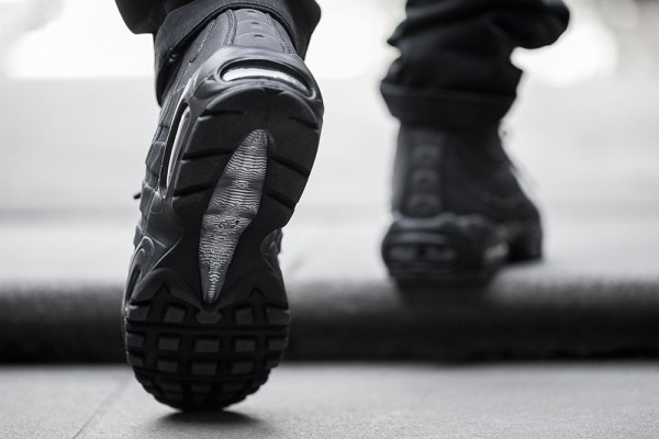 Nike Air Max 95 Sneakerboot - Black/Black 7