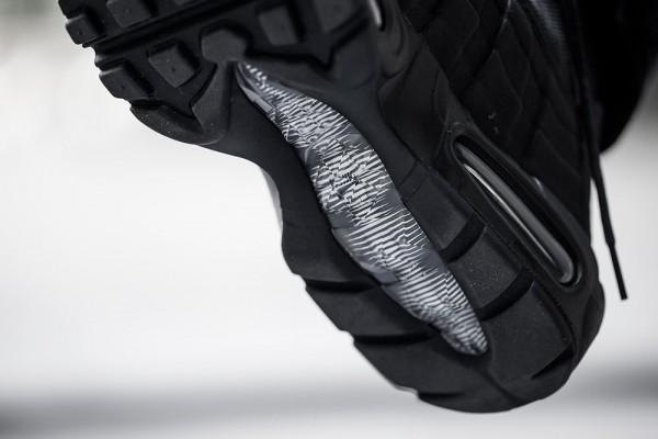 Nike Air Max 95 Sneakerboot - Black/Black 8