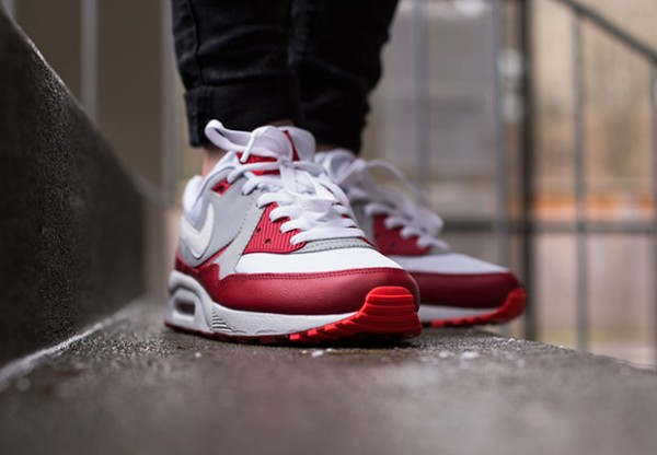 Nike Air Max Light GS - White / Gym Red - Wolf Grey 2