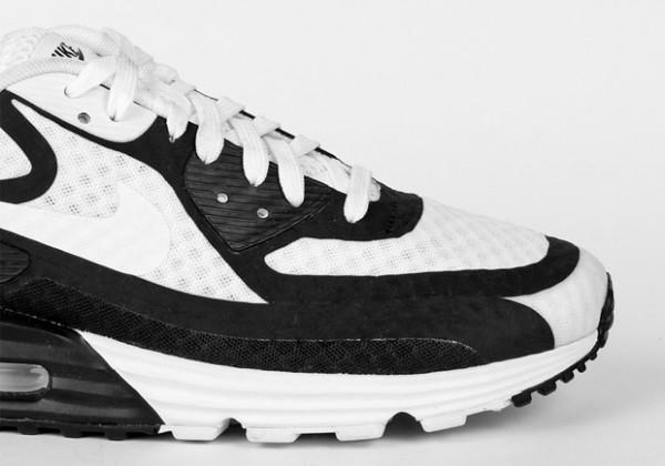 Nike Air Max Lunar90 BR - White / Black 3