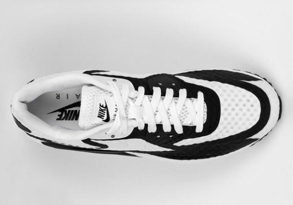 Nike Air Max Lunar90 BR - White / Black 4