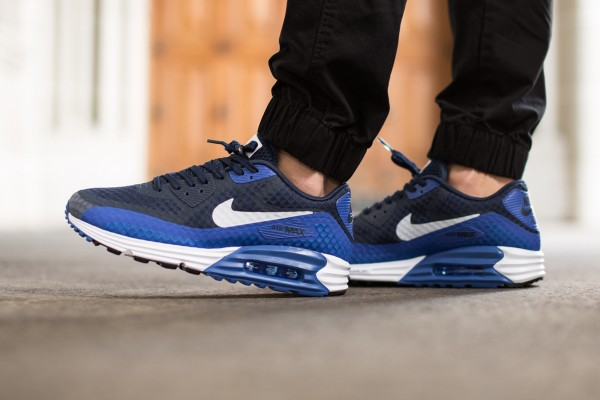 Nike Air Max Lunar90 Breeze - Game Royal / Midnight Navy Black - White 2