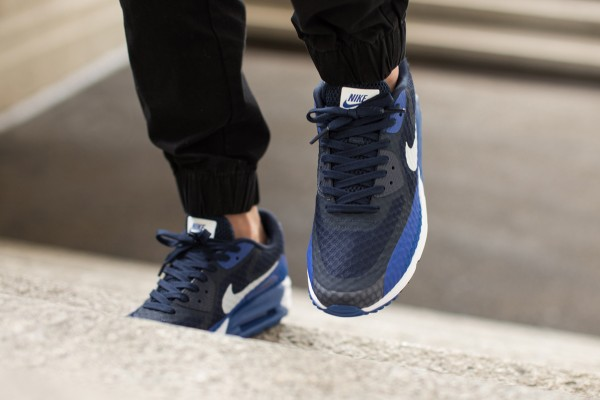 Nike Air Max Lunar90 Breeze - Game Royal / Midnight Navy Black - White 3
