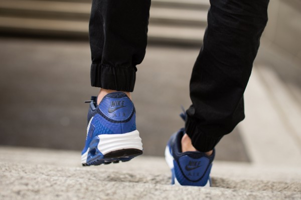 Nike Air Max Lunar90 Breeze - Game Royal / Midnight Navy Black - White 4
