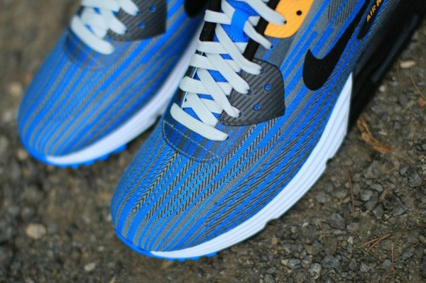 Nike Air Max Lunar90 Jacquard - Light Ash / Photo Blue 2