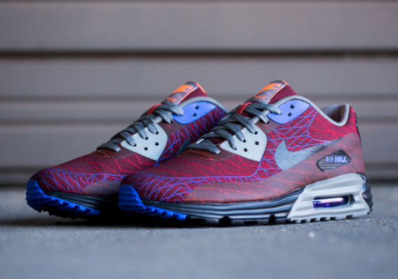 "Nike Air Max Lunar90 Jacquard ""Red Clay"" 2"