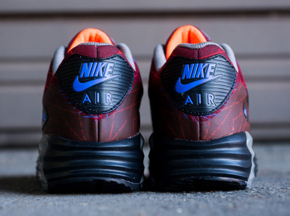"Nike Air Max Lunar90 Jacquard ""Red Clay"" 4"