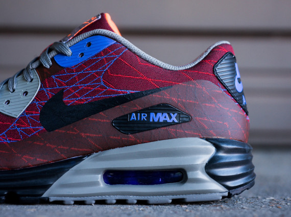 "Nike Air Max Lunar90 Jacquard ""Red Clay"" 6"