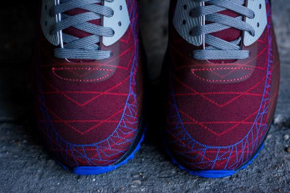 """Nike Air Max Lunar90 Jacquard """"Red Clay"""" 7"""