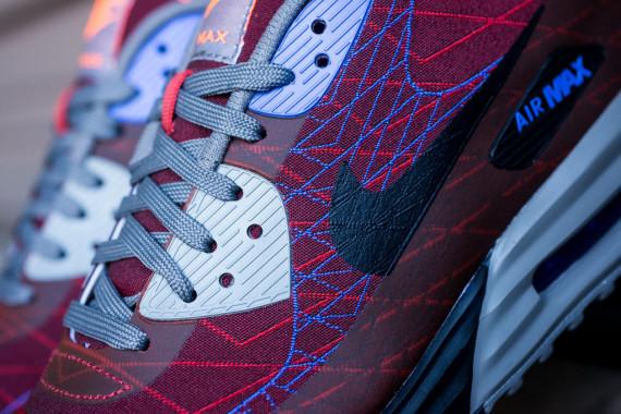 """Nike Air Max Lunar90 Jacquard """"Red Clay"""" 8"""