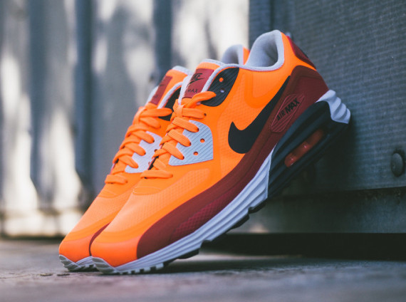 Nike Air Max Lunar90 WR – Team Orange / Red Clay 2