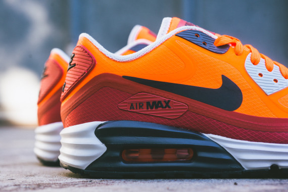 Nike Air Max Lunar90 WR – Team Orange / Red Clay 3