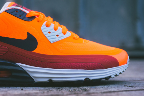 Nike Air Max Lunar90 WR – Team Orange / Red Clay 4