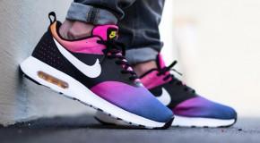 Nike Air Max Tavas – Black / White – Pink Pow – True Yellow