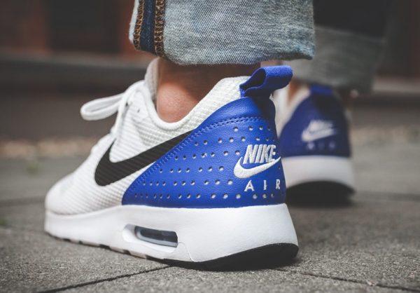 Nike Air Max Tavas - White/Black-Paramount Blue  3