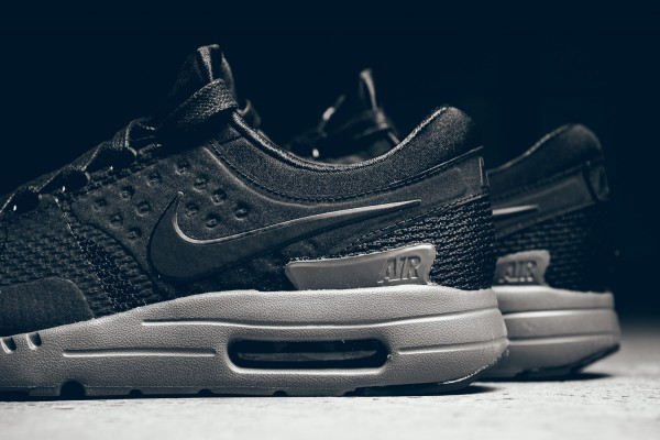 Nike Air Max Zero QS - Black/Dark Grey 4