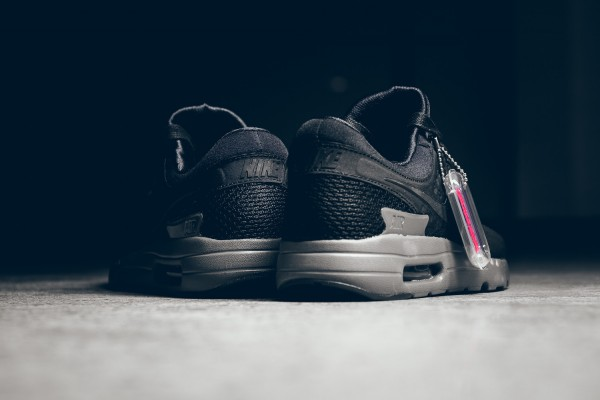 Nike Air Max Zero QS - Black/Dark Grey 8