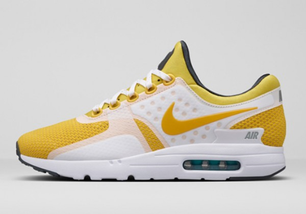 Nike Air Max Zero - White / Yellow 1