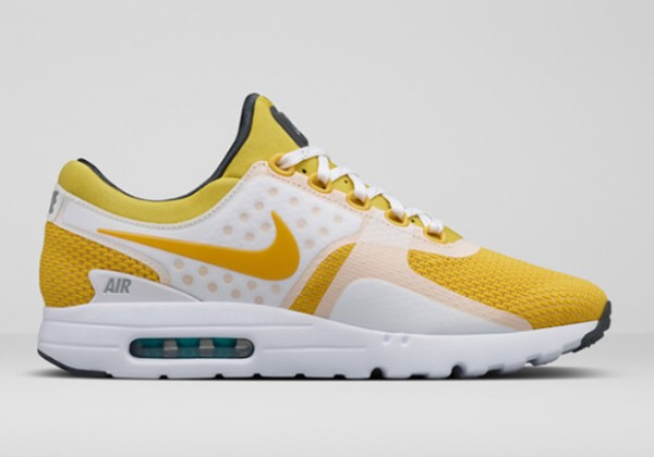 Nike Air Max Zero - White / Yellow 2