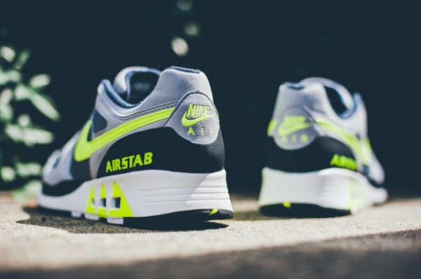 Nike Air Stab - Cool Grey / Volt - Black - White 5