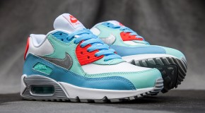 NIKE AIR MAX 90 (LAKESIDE BLUE/ARTISAN TEAL)