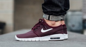NIke SB Stefan Janoski Max Leather – Night Maroon/White