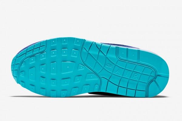 Nike WMNS Air Max 1 - Black / Deep Royal Blue - Tide Pool Blue - Pure Platinum 5