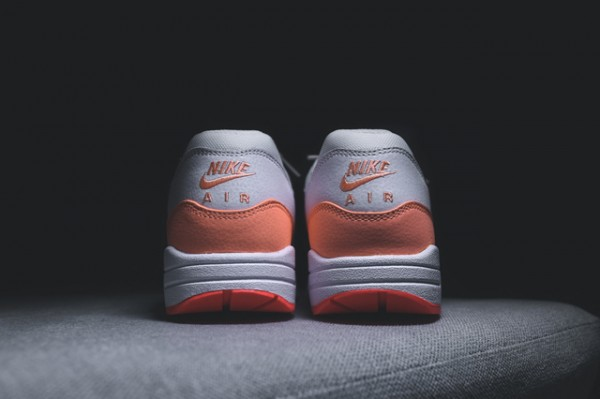 Nike WMNS Air Max 1 Essential - White / Hot Lava - Sunset Glow 7