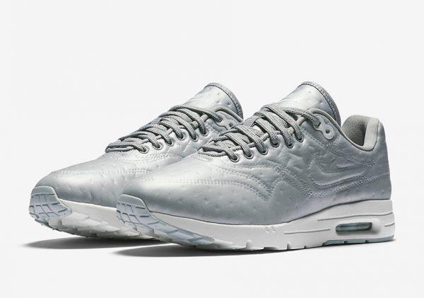 Nike WMNS Air Max 1 Ultra Premium Jacquard - Metallic Silver 2