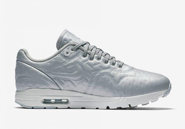 Nike WMNS Air Max 1 Ultra Premium Jacquard - Metallic Silver 4