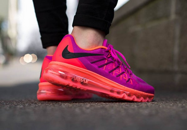 Nike WMNS Air Max 2015 - Fuchsia Flash / Black - Hot Lava 3