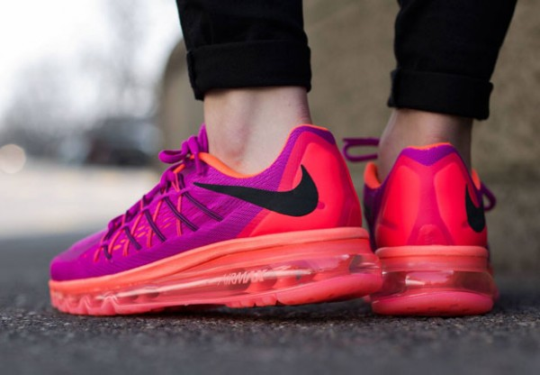 Nike WMNS Air Max 2015 - Fuchsia Flash / Black - Hot Lava 4