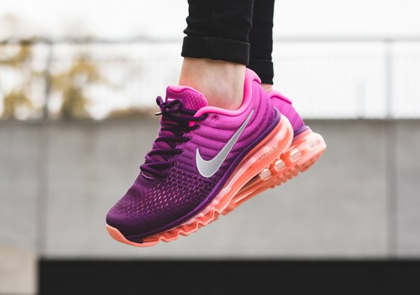 Nike WMNS Air Max 2017 - Bright Grape/White-Fire Pink-Pink Blast 2
