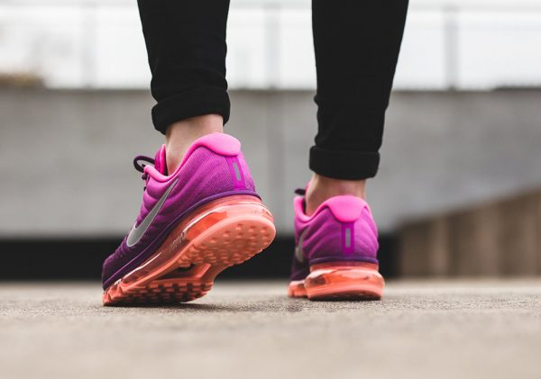 Nike WMNS Air Max 2017 - Bright Grape/White-Fire Pink-Pink Blast 3