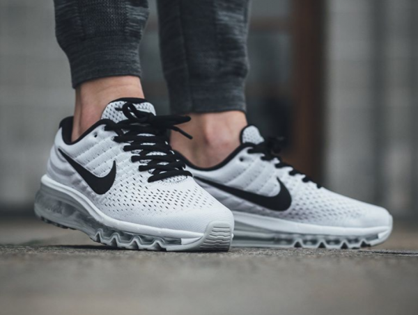 Nike WMNS Air Max 2017 - White/Black-Pure Platinum 2