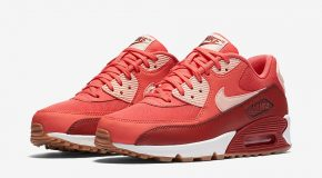 Nike WMNS Air Max 90 Essential – Ember Glow/Arctic Orange-Dark Cayenne-Summit White-Gum Medium Brown