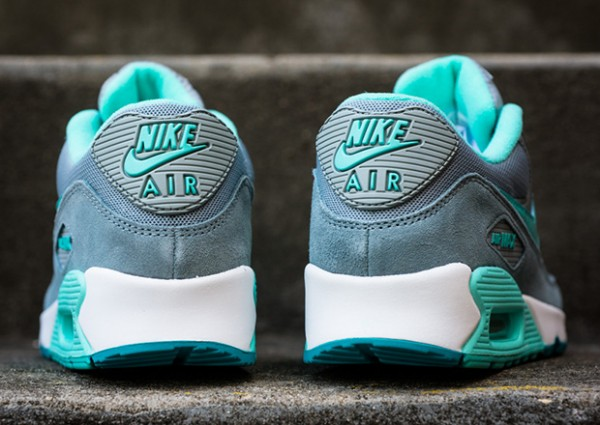 Nike WMNS Air Max 90 – Silver / Hyper Turquoise 5