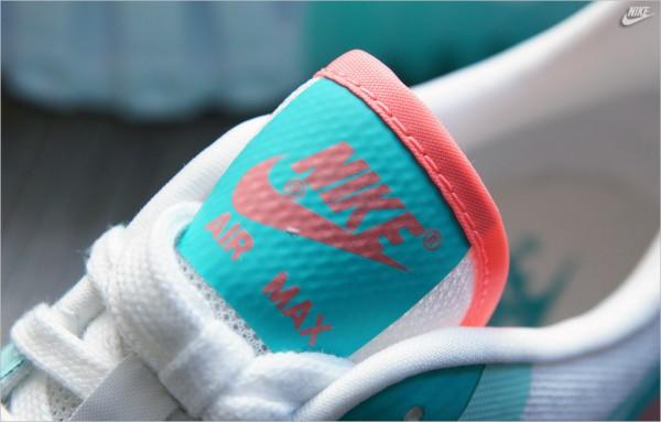 Nike WMNS Air Max 90 Ultra BR - White / LT Retro - Lava 4