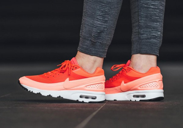 Nike WMNS Air Max BW Ultra - Bright Crimson/Atomic Pink-White-Black 2