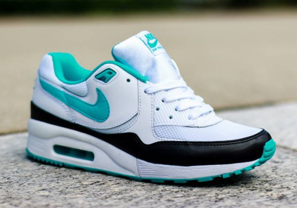 Nike WMNS Air Max Light – White / Dusty Cactus – Black 2