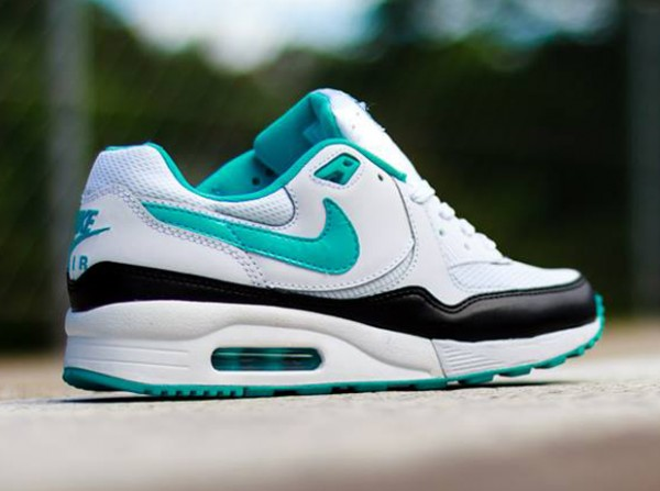 Nike WMNS Air Max Light – White / Dusty Cactus – Black 3