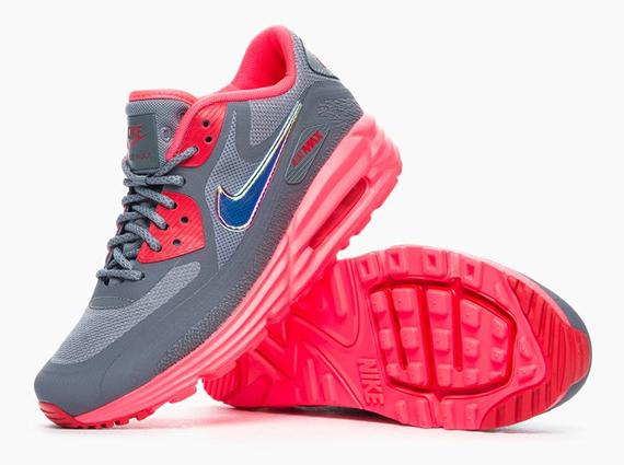 "Nike WMNS Air Max Lunar 90 ""Iridescent Swoosh"" 6"