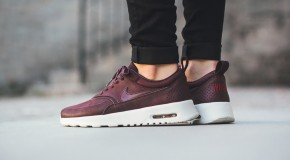 Nike WMNS Air Max Thea Premium – Mahogany/Team Red-Sail